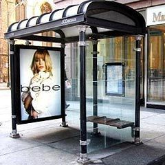 Bus Shelter Advertising Service