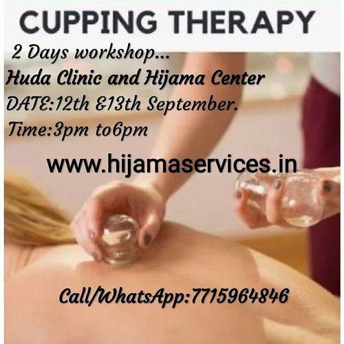 Hijama(Cupping Therapy). Training In Mumbai, Huda Clinic