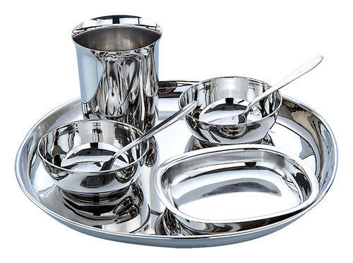 Stainless Steel Thali Set  sc 1 st  IndiaMART & Stainless Steel Thali Set