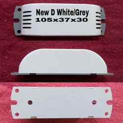 New D White With Grey - Ballast Boxes