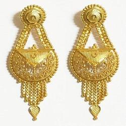Wedding Gold Earrings