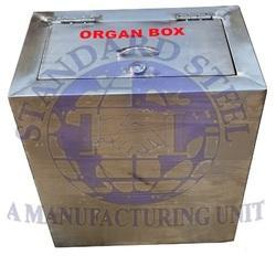 Stainless Steel Mortuary Organ Box