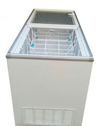 White And Steel Stainless Steel Blue Star Deep Freezer, -50
