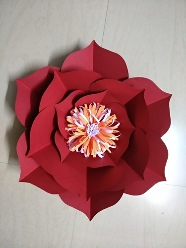 Handmade paper flower kagaz ke phool bhakti enterprise surat handmade paper flower mightylinksfo