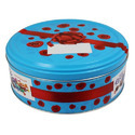 Blue Tin Container