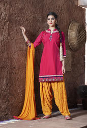 Ready Made Patiala Suit