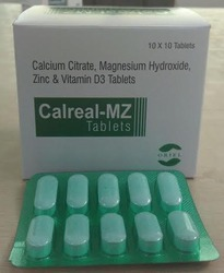 Calcium Citrate Magnesium Hydroxide Zinc and Vitamin D3