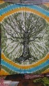 Round Tree Of Life Wall Hanging Tapestry