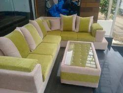 Beau Green Colour Sofa Set