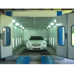 Automobile Spray Paint Booth