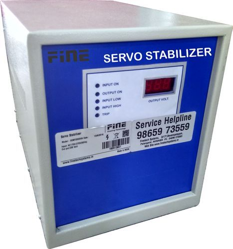 Single Phase Air Cooled Amp Oil Cooled Servo Stabilizers Rs