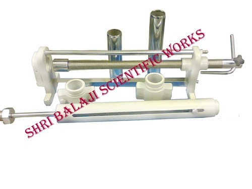 Soil sample extruder, soil testing equipment | delhi | shri balaji.
