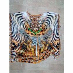 Tiger Digital Printed Kaftan