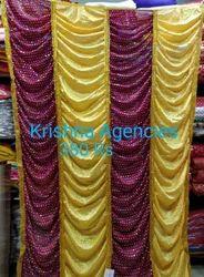 Ganpati Decorations Back Drop Ganpati Parda