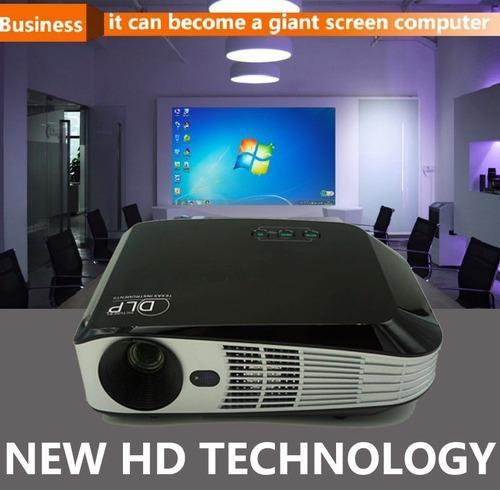 c07924cd7b5c0b Digital Projector - 4K 3D 1080P Wifi DLP Mini 3D Portable Full HD ...