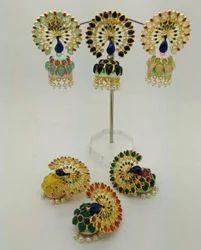 Peacock Designer Jhumki