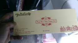 Designer Wedding Card Printing