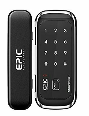 Epic digital glass door lock es 303g at rs 18500 piece door lock epic digital glass door lock es 303g planetlyrics Images