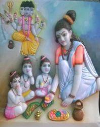 Marble Anusuiya Mata Statue