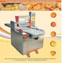 Cookies Biscuit Dropping Machine
