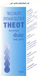 Theot Allopathic Timolol Maleate Ophthalmic Solution I.P., Bottle Size: 5 ml