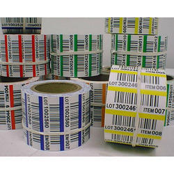 Paper Barcode Printing Service, Thickness: 0.25-2 Mm