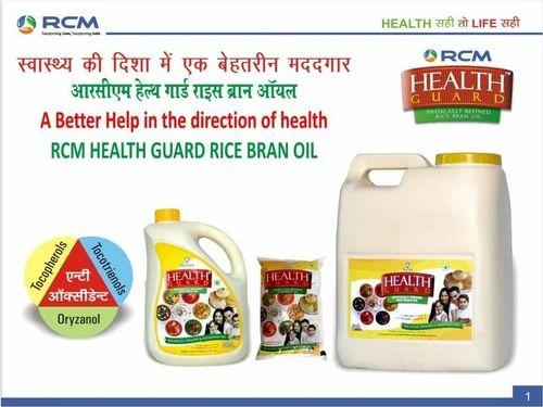 Health Guard Rice Bran Oil 15 L Rs 170 Litre Mauli Rcm Shopping Id 11545380755
