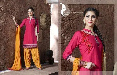 29267e5327 Multicolor XXL Navratri Wear Patiala Suits, Rs 1375 /piece   ID ...