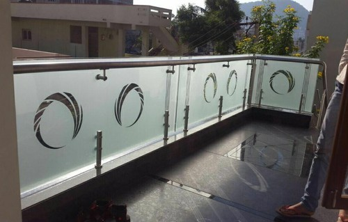 Toughened Glass SS Balcony