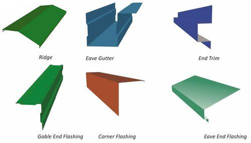 Ridge Gutter Flashing View Specifications Amp Details Of
