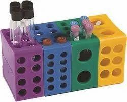 Radical Plastic Rotatable Multi Rack For Chemical Laboratory