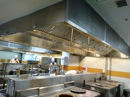 Commercial Kitchen Hood - Commercial Kitchen Exhaust Hood