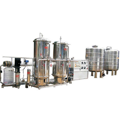 Automatic Packaged Drinking Mineral Water Plant