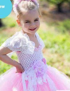 5db1c9c74e9b Flower Girls Tutu Wedding Dress For Baby Birthday at Rs 2700 /piece ...