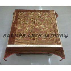 Designer Table Cover Brasso Velvet Simmer