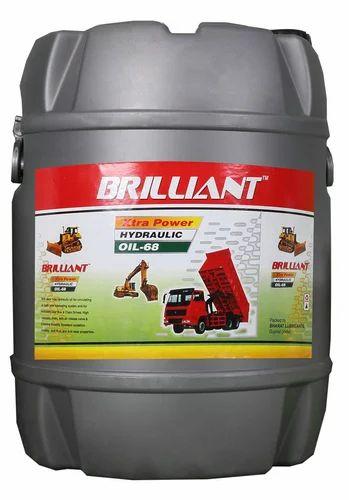 Hydraulic Oil - Brilliant Hydraulic Oil 68 No  Manufacturer from Surat
