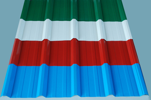 Color Coated Roofing Sheet At Rs 69 Kilogram Colour Coated Roofing Sheet Id 10866541388