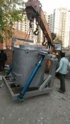 Non Ferrous Melting Tilting Furnace