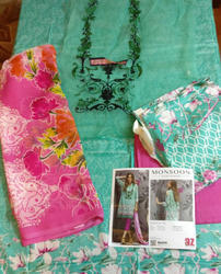 Casual Wear And Party Wear Cotton, Pakistani Suits