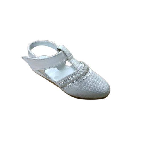 Baby Girl White Belly Shoe at Rs 185