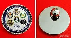 Round Lapel Pin