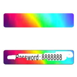 Digital Scratch Hologram Card