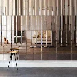 Decorative Finished Glass Paneling