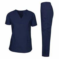 Navy Blue Medical Scrub Set