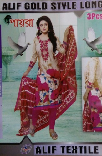 51a1627a29 Alif Bangladeshi Lawn Suits, Rs 650 /piece, Mashallah Collection ...
