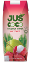 Juscoco Lychee Fruit With Coconut Water