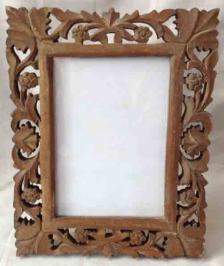 Carved Wooden Mirror Frame at Rs 31 /piece | Lakdi Ka Darpan Frame ...