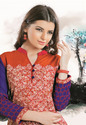 Cotton Georgette with Embroidery Kurtis