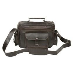 Genuine Leather Camera Messenger Bag CAM103