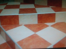 Cement Glossy Finish Tiles, For Flooring, Thickness: 12 mm